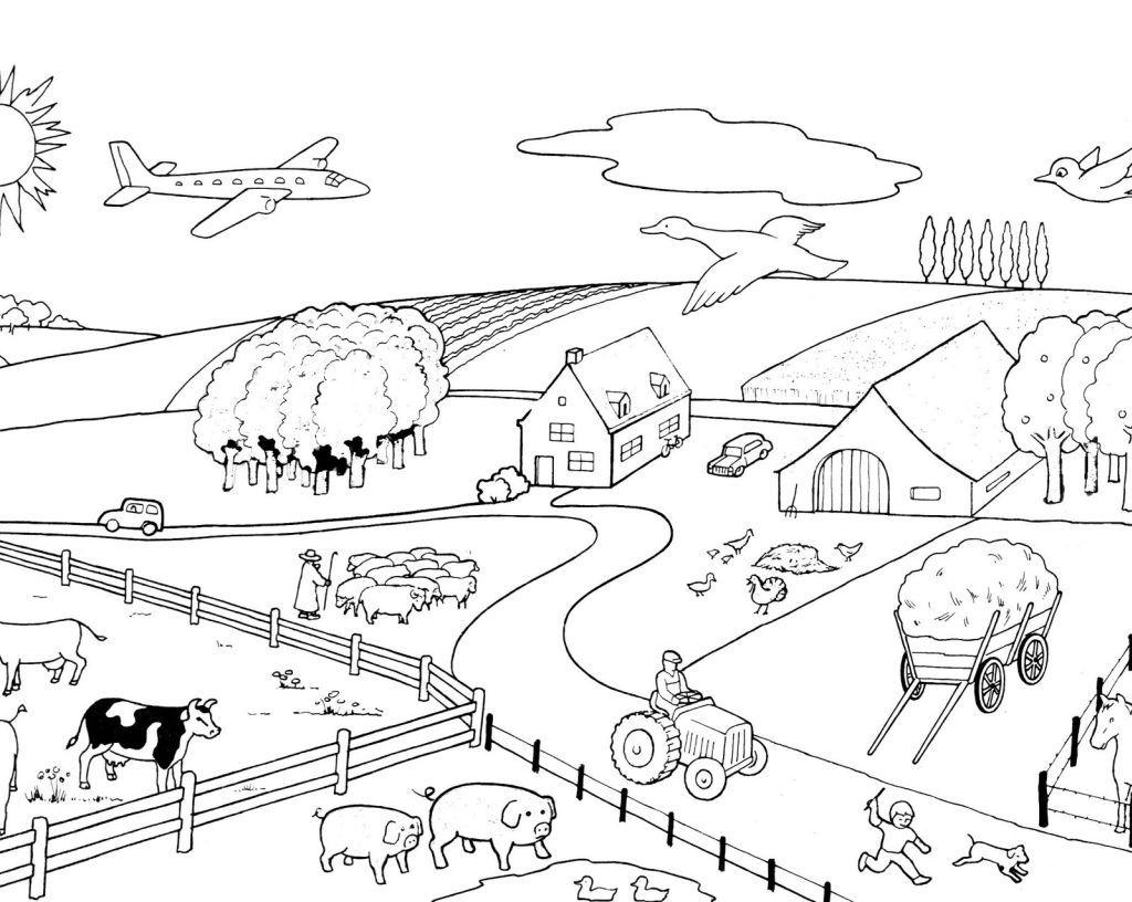 Comment dessiner une ferme for Dessiner ma maison en ligne