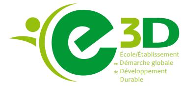Label E3D de niveau 2 (ancien label excellence) validé