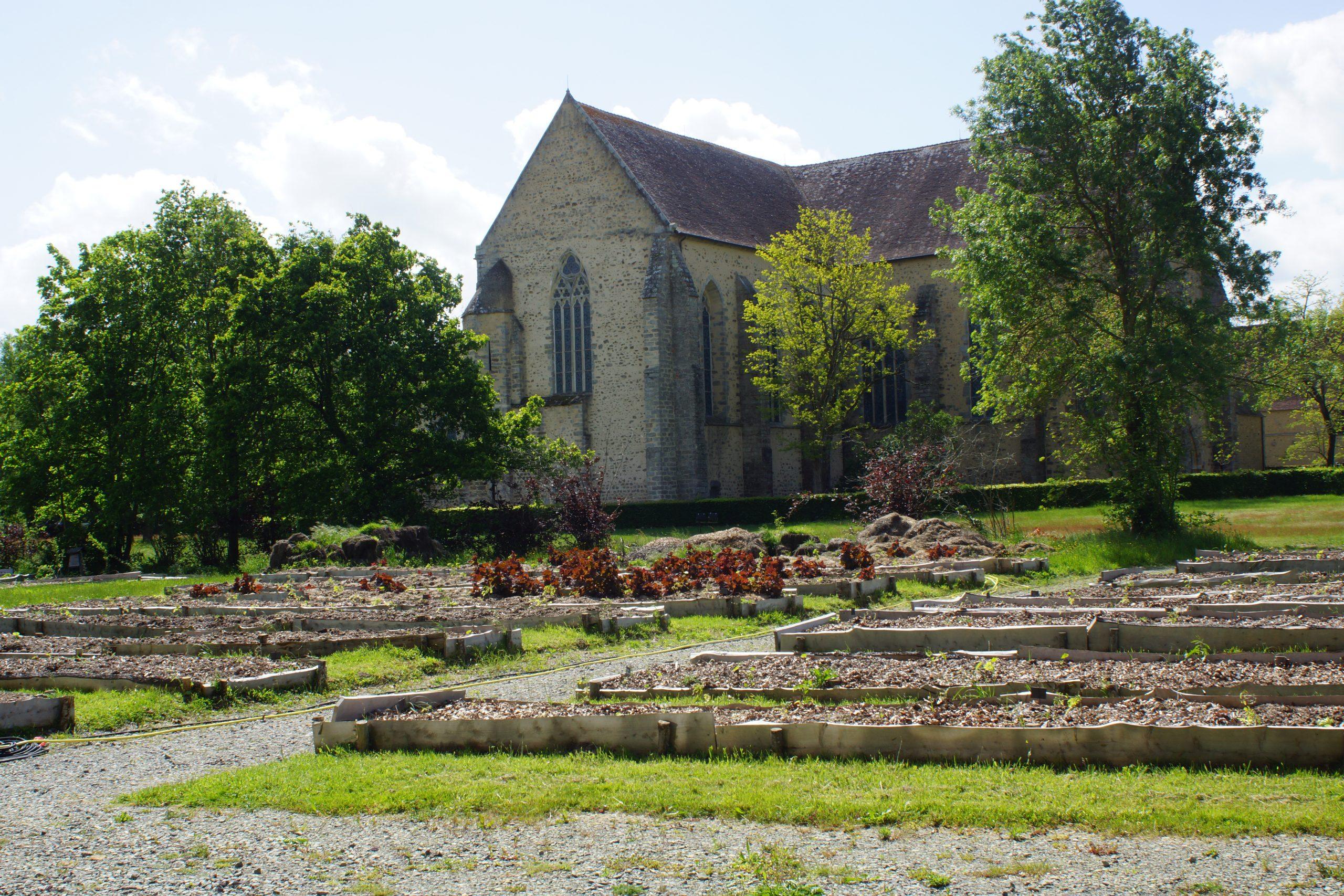 Découverte de la permaculture à l'Abbaye de l'Epau
